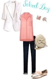 How to rock a white blazer outfit # 3!