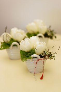 Flowers of Soul: Cosulete cu flori 8 Martie, March, Anniversary, Flowers, Plants, A3, Decor Ideas, Birthday, Florals