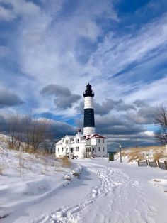 Big Sable Point Light, Ludington, Michigan