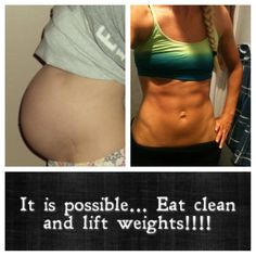 Eat clean! It will change your life!!! Ladies don't be afraid to lift some weight. :D