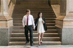 Intimate Philadelphia City Hall Elopement | Philadelphia PA Elopement Photographer | Jacqueline and Alexey | Photo by Samantha Jay Photography