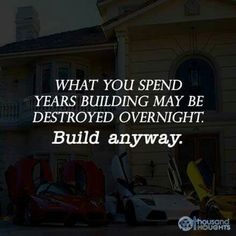 Build anyway