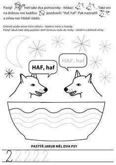 Vánoční dokreslovací knížka