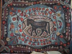 The Wool Cupboard: Rug on My Frame and More Hook-In Pictures