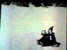 Out of the Inkwell presents: Koko the Clown - A Trip to Mars (1924)  Rotoscopia, trabajar sobre una imagen ya filmada y redibujar entima