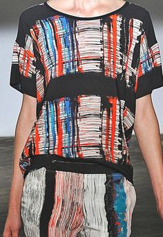 Cedric Charlier, Painterly print and pattern