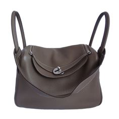 Hermes Lindy 30 Etoupe Taurillon Clemence