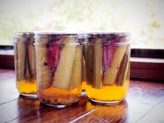 Savory Rhubarb Pickles Recipe | Garden Betty