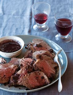 Beef Tenderloin with Shallot and Red Wine Reduction @williamssonoma