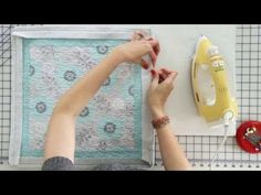 How to Bind a Quilt using the Binding Tool - Fat Quarter Shop - YouTube  One of the best tutorials I have seen.