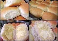 """Ó colega… pára tudo e vem aprender a fazer o melhor pãozinho que você já comeu na vida!Depois de tanto """"apanhar"""" p/ fazer um pão que valha a pena eu finalmente encontrei a receit…"""