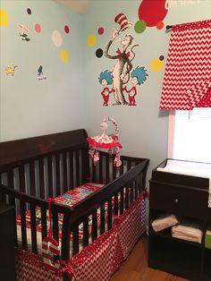 Nursery set I made for my sister's babies