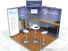 Trade Show Booths - Modular Rentals | Trade Show Display Exhibits