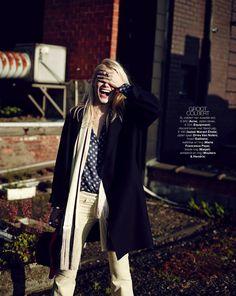 Fashion Editorial | 8 Easy Pieces | Yulia Terentieva  by David Cohen de Lara for Marie Claire NL, September 2013