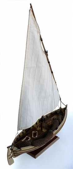Here are some more images of Artesania Latina's 1/20 scale Cadaques Fishing Boat. The Cadeques is a traditional fishing boat see...