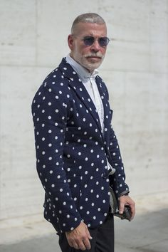 Nick Wooster #tottagency This man knows wht it takes to style it up or down