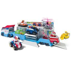 One of the hottest shows for preschoolers this year, Paw Patrol is a bonafide hit for tots. The Paw Patrol . Paw Patrol Toys, Paw Patrol Party, Quad, Atv Car, Rescue Vehicles, Into The Fire, Transporter, Top Toys, Christmas Toys