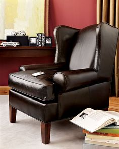 chocolate brown chair ;)