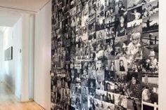 Decorar con fotos las paredes : Estupenda idea decorativa para exponer tus fotos de forma creativa. Elige tus mejores momentos y crea con ellos un corazón en una esquina. Ideal para el sa