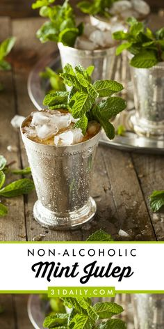 A Non-Alcoholic Mint Julep Everyone Can Enjoy at the Kentucky Derby   31Daily.com