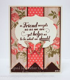 "stampin up - ""Feel Good"" stamp set"