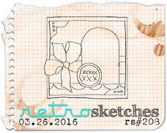 retro sketches : a challenge: retrosketches #208...