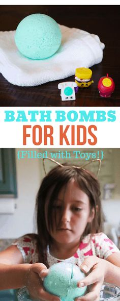 These bath bombs are easy enough for kids to make, and have hidden toys inside! I love that they're made with all natural ingredients. This would be a perfect activity for a girl's birthday party!
