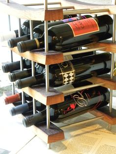 Spotted this Dunedin Wine Bar Storage Rack Shelving Unit on Rue La La. Shop (quickly!). | Rue La La | Pinterest | Rue la la and Boutique & Spotted this Dunedin Wine Bar Storage Rack Shelving Unit on Rue La ...