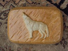 Wolf Stone Doorstop Home Decor Rustic Decor by MountainArtCasting