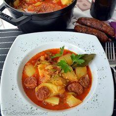 Chorizo and potato soup recipe! A yummy Spanish Tapas recipe for winter! - Spanish Food Recipes