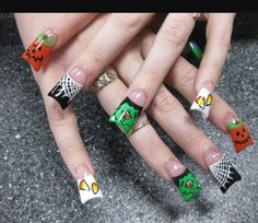 Fashion And Art Trend Halloween Nail Design Ideas