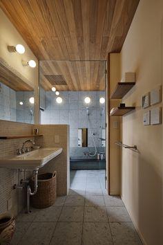 トイレ/バス事例:洗面所1(oyama house)