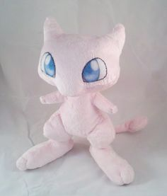 Instant Download Pokemon Mew Plushie Pattern by dolphinwing, $10.75