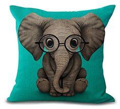 cute elephant throw pillow :)