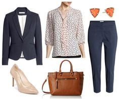 A pretty and polished polka dot bow blouse from JCPenney is styled three ways for work environments. Learn how to wear a polka dot blouse to work here!