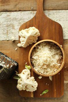 TUTORIAL How to Make Cauliflower Rice #vegan #glutenfree