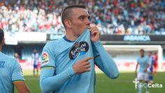 Iago Aspas se convierte en el máximo goleador nacional de la liga con sus dos goles en el empate contra Las Palmas por 3-3. @Celta #9ine