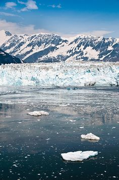Hubbard Glacier, Alaska.  It was a beautiful place.   One of our most memorable vacations.I want to go see this place one day. Please check out my website Thanks.  www.photopix.co.nz