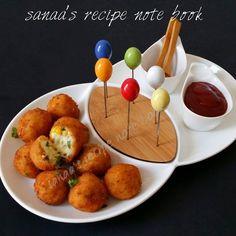 Sweet Corn Chicken Cheese Balls - sanaa's recipe