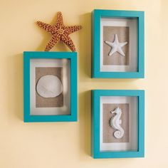 shadow boxes... I just made my own (for a lot less than these!)