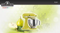 Pear #KitchenAid #StandMixer