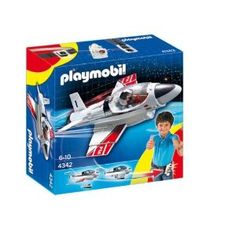 Playmobil 4342 Click and Go Jet: Amazon.co.uk: Toys & Games
