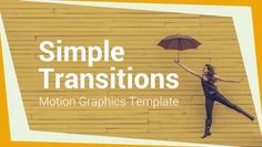 Check out Simple Transitions here: https://motionarray.com/motion-graphics-templates/simple-transitions-33170 #videoediting #motionarray