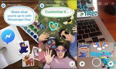 #Comunicación #Facebook #historias Facebook Messenger prueba una función similar a Historias de Snapchat en Polonia