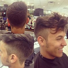 #VisibleChanges stylist are cutting some amazing mens styles! #TexasSalon