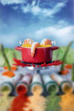 """De acordo com o artista William Kass, """"A comida não é apenas para comer""""."""