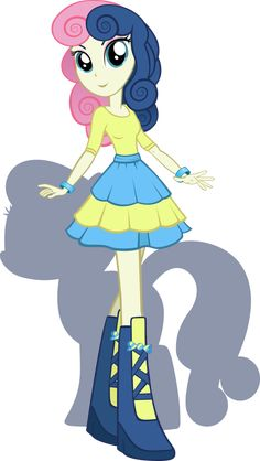 Equestria Girls - BonBon by Rariedash.deviantart.com on @deviantART