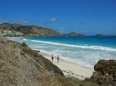 """Quiet side"" of Orient Beach, St Martin (March 2, 2011)"