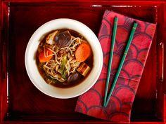 Japanese Beef and Vegetable Hot Pot - Sukiyaki Recipe