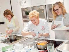 Enjoy a hands-on cookery lesson for two at The Smart School of Cookery who are…